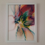 Картина/ живопис/ абстракція Fluid Art #10 acrylic, фото №12