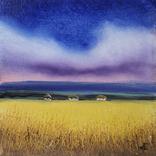 Картина, Шепіт неба, 15х15 см. Живопис на полотні, фото №4