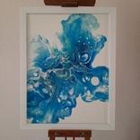 Картина/ живопис/ абстракція Fluid Art #12 acrylic, фото №2
