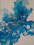 Картина/ живопис/ абстракція Fluid Art #12 acrylic, фото №8