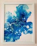 Картина/ живопис/ абстракція Fluid Art #12 acrylic, фото №11