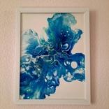 Картина/ живопис/ абстракція Fluid Art #12 acrylic, фото №12