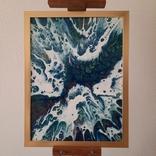 Картина/ живопис/ абстракція Fluid Art #13 acrylic, фото №2