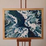 Картина/ живопис/ абстракція Fluid Art #13 acrylic, фото №3