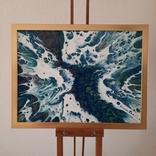 Картина/ живопис/ абстракція Fluid Art #13 acrylic, фото №5