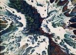 Картина/ живопис/ абстракція Fluid Art #13 acrylic, фото №9