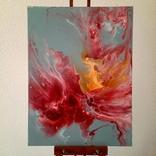 Картина/ живопис/ абстракція Fluid Art #14 acrylic, фото №2