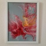 Картина/ живопис/ абстракція Fluid Art #14 acrylic, фото №3