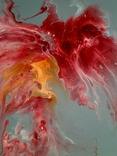 Картина/ живопис/ абстракція Fluid Art #14 acrylic, фото №10