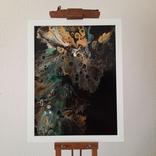 Картина/ живопис/ абстракція Fluid Art #15 acrylic, фото №4