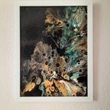 Картина/ живопис/ абстракція Fluid Art #15 acrylic, фото №6