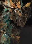 Картина/ живопис/ абстракція Fluid Art #15 acrylic, фото №9