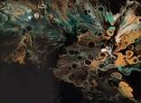 Картина/ живопис/ абстракція Fluid Art #15 acrylic, фото №10