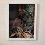 Картина/ живопис/ абстракція Fluid Art #15 acrylic, фото №12