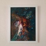 Картина/ живопис/ абстракція Fluid Art #16 acrylic, фото №6