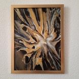 Картина/ живопис/ абстракція Fluid Art #19 acrylic, фото №2