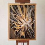 Картина/ живопис/ абстракція Fluid Art #19 acrylic, фото №3