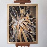 Картина/ живопис/ абстракція Fluid Art #19 acrylic, фото №5