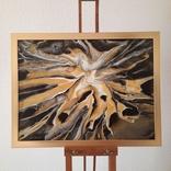 Картина/ живопис/ абстракція Fluid Art #19 acrylic, фото №6