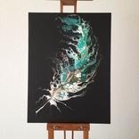 Картина/ живопис/ абстракція Fluid Art #20 acrylic, фото №4