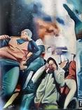 Картина. Болельщики на стадионе. 118 / 82, фото №4