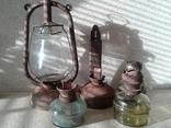 5 ламп керосиновых (разные), фото №2