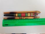 Ручки шариковые гуцульские времен ссср 3 шт, фото №3