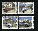 Барбадос 2000 - Ретро автомобили. Транспорт. Серия, фото №2