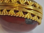 Кулон мощевик золото 925 камень серебро, фото №8