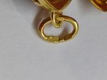 Кулон мощевик золото 925 камень серебро, фото №12
