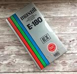 Видеокассета MAXELL E-180, фото №2