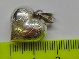 Кулон Сердце, фото №7