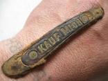 """Накладка ножа """"Купи меня!"""" (из траншеи..),Германия., фото №7"""