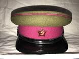 Фуражка суконная среднего и высшего комначсостава пехоты РККА, образец 1935 года, фото №2
