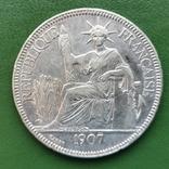 1 пиастр Индокитай 1907 г., фото №3