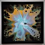 Картина живопис абстракція Fluid Art #36 acrylic, фото №4