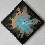Картина живопис абстракція Fluid Art #36 acrylic, фото №7