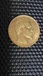 Золото 20Франков.1858г., фото №3