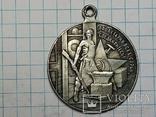 Медаль 3 года РСФСР копия, фото №3