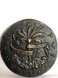 Современная медаль по типу Сперандио копия монеты, фото №5