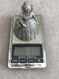 Старинный вызовной колокольчик (серебро 800 пр, вес 83,4 гр), фото №9