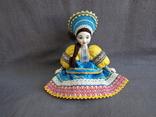 Кукла Барышня в кокошнике Фарфоровая, фото №2