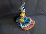 Кукла Барышня в кокошнике Фарфоровая, фото №8