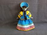 Кукла Барышня в кокошнике Фарфоровая, фото №9