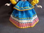 Кукла Барышня в кокошнике Фарфоровая, фото №12