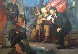 Соцреализм В дни Октября 1975 г. Народный художник УССР Наседкин Анатолий Леонидович, фото №3