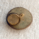 Две 2 шт. диам. 24мм и 12мм вставка пеламутр, Лот 5442, фото №5