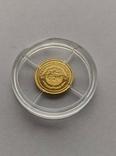 25 2003 год Либерия золото 1/50 унц. 9999`, фото №3