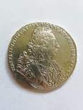 Рубль 1729 г, фото №2