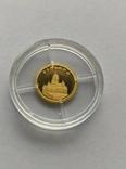 12 долларов 2008 год Либерия золото 1/50 унц. 9999`, фото №2